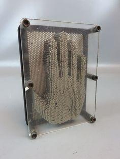 3D Pinnart Nagelbild Nagelbrett Nagelskulptur