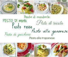 Primi piatti con pesti vari il classico quello di rucola di menta di agrumi di zucchine rosso e altro ancora per tanto gusto e bontà Ricette La cucina di ASI