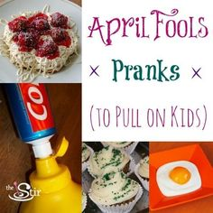 Looking for April Fools prank ideas? Check out this list of funny pranks that are safe to play on kids!