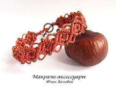macrame bracelet with beads  *free detailed pattern w/pictures*