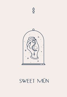 Sweet Mūn Brand Identity by Cocorrina