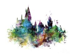 Hogwarts by Monn Print Hogwarts Mixed Media by Monn Print You can find Hogwarts and more on our website.Hogwarts by Monn Print Hogwarts Mixed Media by Monn Print Fanart Harry Potter, Harry Potter Tattoos, Arte Do Harry Potter, Harry Potter Drawings, Harry Potter Wallpaper, Harry Potter Hogwarts, Chateau Harry Potter, Harry Potter Background, Desenhos Harry Potter