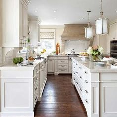 Kitchen with Ivory Cabinets, Transitional, Kitchen