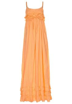 maxidress- orange