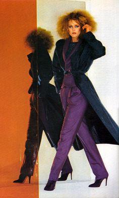 Vogue Italia 1979. Photo Marco Glaviano Model Nancy Donahue