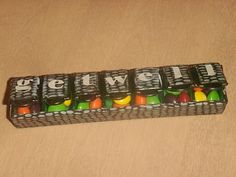 Get Well Pill Box. good idea for a friend who is sick, and you can put their favorite candy inside.