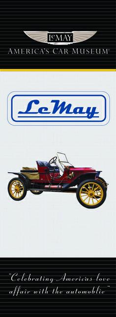 LeMay Museum Sponsorship Banner www.dreamtimesigns.com