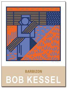 BARBIZON (Proteuse de Fagots) poster by bobkessel