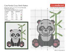 Cute Panda - FREE PATTERN