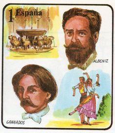 Isaac Albéniz y Enrique Granados fueron grandes compositores y pianistas, que reflejaron el hispanismo en óperas y composiciones musicales como la «Suite Iberia» y «Goyescas», respectivamente.