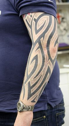 tribal shaded 02 Tattoo