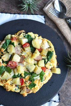 Vegetable Pizza, Potato Salad, Sausage, Potatoes, Cooking Recipes, Eggs, Snacks, Vegetables, Ethnic Recipes