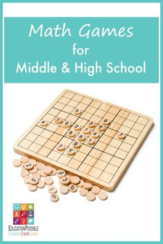 Whether you're teaching middle school or high school math in a classroom or in a home school, consider adding hands-on activities to your math lesson plans. Math games are the perfect tool to use to work on math facts and show your student real world applications. We love math board games, math dice games, and math card games.