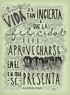 No dejes pasar la oportunidad de disfrutar de la felicidad!!!