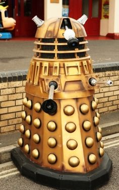 This Life Size Dalek will be sold in our next Auction at the Brighton Racecourse 1st October 10am onwards www.brightongeneralauctions.co.uk