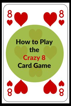 how to play crazy 8 card game