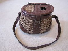 fishing basket? Reminds. Me of the one you could get for your Kristin doll from American girl