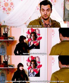 We all have that one TV character that we can picture ourselves with perfectly. For us, that person is Nick Miller! He's funny, laid back, realistic, thrifty, and sarcastic. You couldn't really ask fo