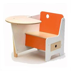 Innovative and functional! Offi Kids Mini-Drawer Doodle Desk