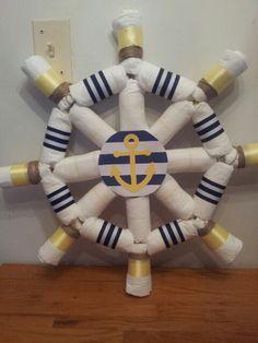 Diaper ship wheel