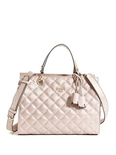 cbbefa9fc2 Shop a great selection of Guess Women s Seraphina Quilted Satchel Handbag.  Find new offer and Similar products for Guess Women s Seraphina Quilted  Satchel ...