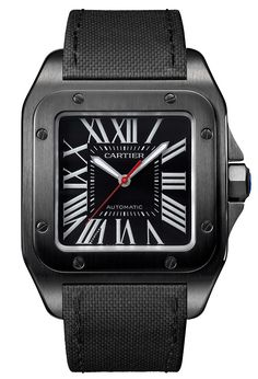 KSK LUXURY Connoisseur || +Cartier Santos 100 All Black - Perpetuelle