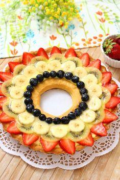 CROSTATA DI FRUTTA   Fatto in casa da Benedetta Rossi Fruit Tart, Fruit Salad, Fruit Fruit, Pineapple, Pie, Cooking, Desserts, Food, Dolce