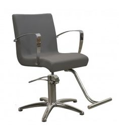 Carrera Styling Chair in Gray 5 Star