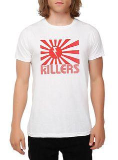 The Killers Bolt Flag Slim-Fit T-Shirt  86ef8de08
