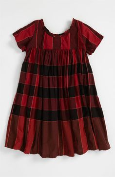 Burberry Check Print Dress (Little Girls) available at #Nordstrom