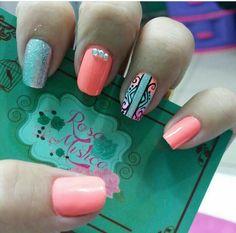 Nail Arts, Nail Designs, Stamp, My Style, Nails, Fairy, Finger Nails, Cute Nails, Nail Art
