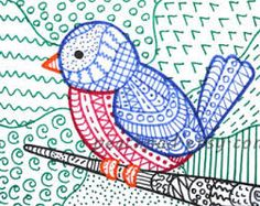 zentangle art for kids - Google Search