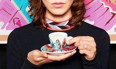 """Illy ed Emilio Pucci insieme per una collezione di tazze e tazzine da caffè che entrerà a far parte della""""Illy Art Collection""""."""