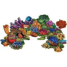 Pool Mosaic Tiles, Mosaic Tile Designs, Coral Reef Art, Coral Reefs, Swimming Pool Tiles, Creative Inventions, Underwater Painting, Photo Mural, Ocean Creatures