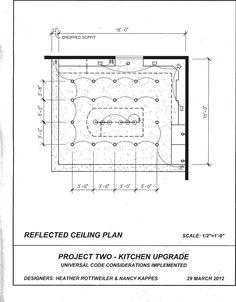 Final Reflected Ceiling Plan PlanConstruction DrawingsInterior RenderingLighting DesignLighting