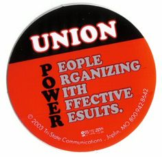 Union Power : People Organizing with Effective Results