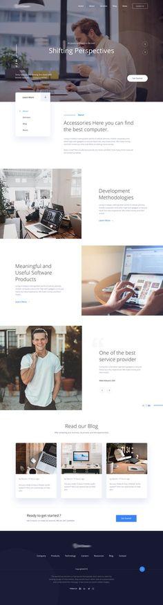 Homepage version 3.1 2x Great Website Design, Website Design Layout, Web Layout, Layout Design, Homepage Web, Homepage Design, Brochure Design, Plakat Design, Modern Web Design