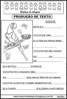 Produção Games For Kids, Activities For Kids, A30, Coloring Pages For Kids, Professor, Literacy, Homeschool, Journal, Writing