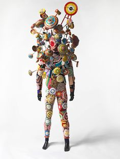 Sculpture from textile artist Nick Cave