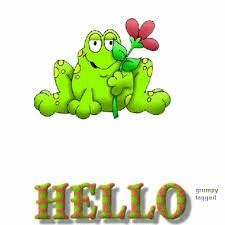 Risultati immagini per hello animated images Hello Pictures, Frog Pictures, Hello Pics, Animated Frog, Animated Emoticons, Funny Frogs, Cute Frogs, Frog Quotes, Good Day Wishes