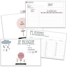 Vie de miettes <3 : kit pour blogueuse