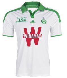 AS Saint-Etienne Away Kit 14/15 Adidas