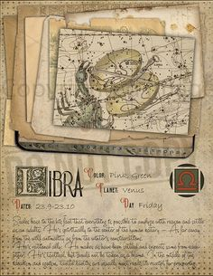 7 pages set about LIBRA Astrological Sign Correspondences. They are an ideal addition to your own Wicca Book of Shadows. Astrology Chart, Astrology Zodiac, Astrology Signs, Astrological Sign, Libra Sign, Taurus, Wiccan Spells, Magick, Witchcraft