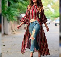 Fashion 2019 New Moda Style - fashion Indian Gowns Dresses, Indian Fashion Dresses, Indian Designer Outfits, Girls Fashion Clothes, Fashion Outfits, Casual Indian Fashion, Formal Fashion, Jeans Fashion, Classy Fashion