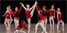 """""""Rubies"""" from """"Jewels Ballet"""" by George Balanchine - New York City Ballet"""