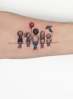 200 Most Creative Small Tattoos That Will Blow Your Mind - Game of Spoons Kid Tattoos For Moms, Mommy Tattoos, Baby Tattoos, Family Tattoos, Tattoos For Daughters, Mini Tattoos, Body Art Tattoos, Small Tattoos, Sleeve Tattoos
