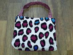 Leopard/Cheetah Beach Towel Tote Bag by TreasuresbyKatieH on Etsy, $20.00