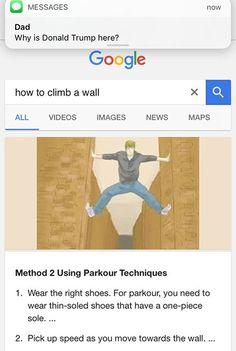 climb a wall