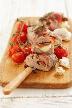 Schweinefilet mit Mozzarella-Füllung - smarter - Zeit: 25 Min. | eatsmarter.de