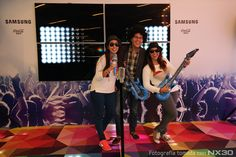 Fotografía tomada con NX30 en el photo opportunity del concierto más importante de la Arena Ciudad de México.